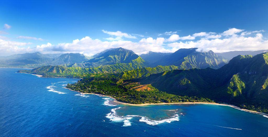 Parc naturel et paysages de l'île Kauai