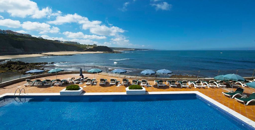 Profitez des joies d'un séjour en station balnéaire, au bord des eaux bleues de l'océan...