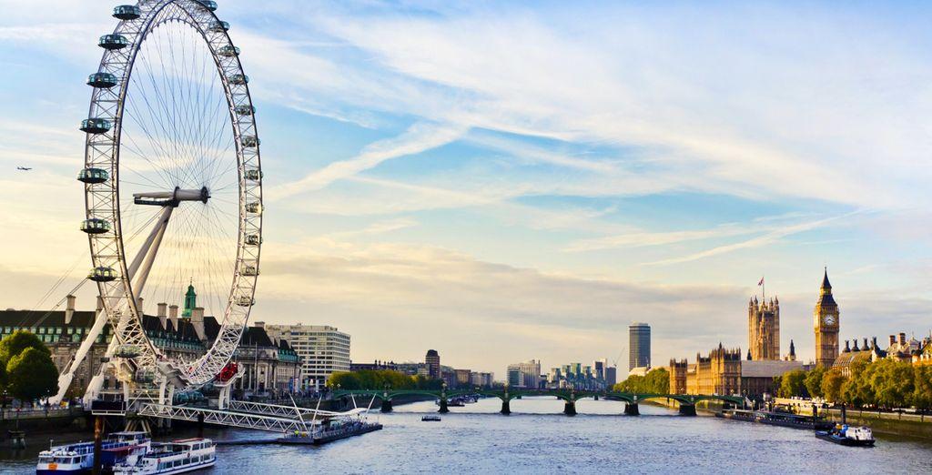 Photographie de la capitale de Londres lors des offres spéciales du Cyber Monday