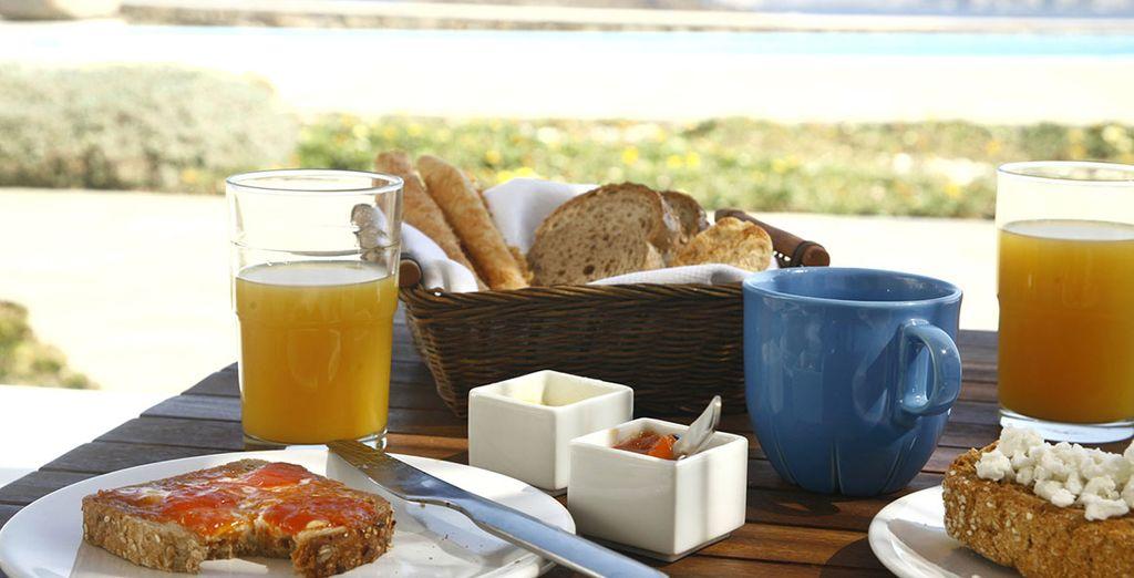 Pour des matins sans problème, on vous a réservé une formule Petit-déjeuner