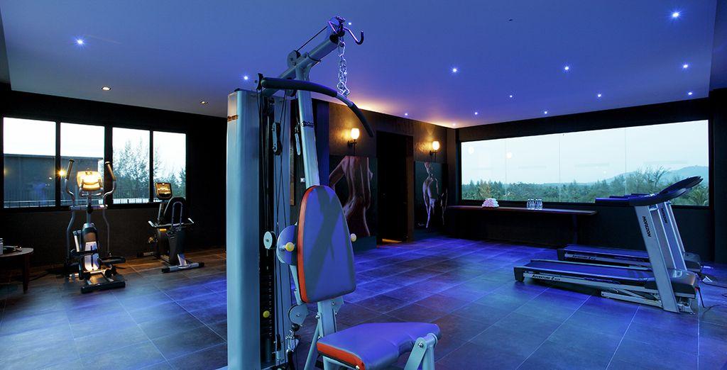 Et pour entretenir votre forme, une salle de gym vous attend