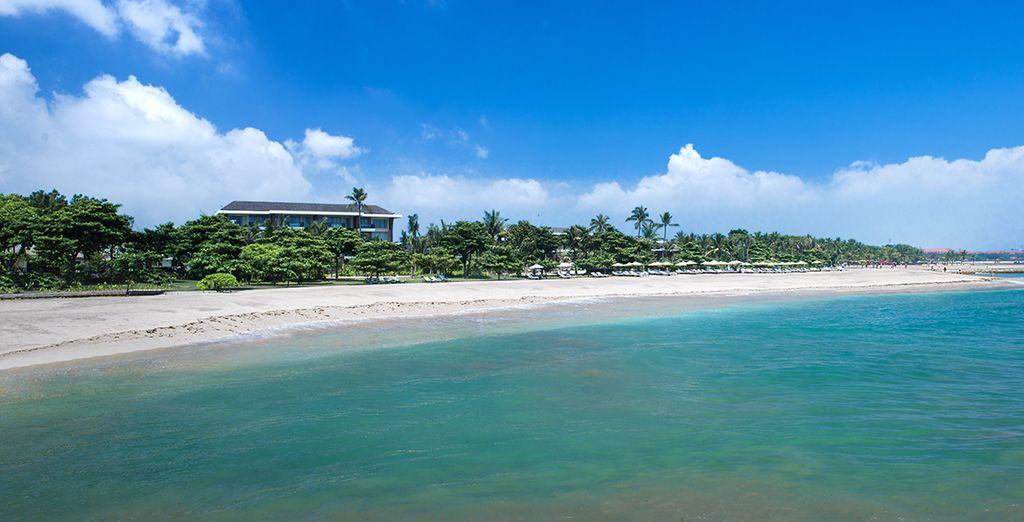 Quant à Nusa Dua, vous terminerez en beauté le combiné sur une plage superbe