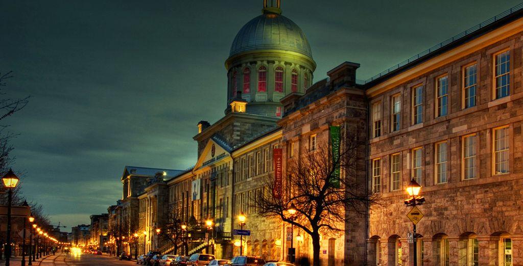 Direction le Vieux Montréal...