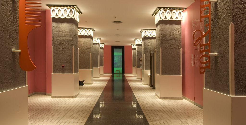 Et poussez les portes de l'hôtel The Marmara