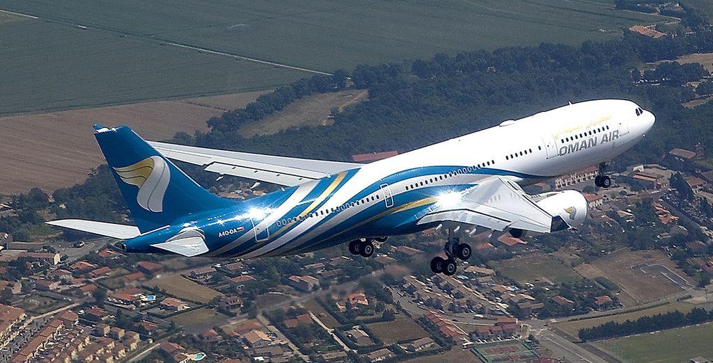 Vous voyagerez avec Oman Air
