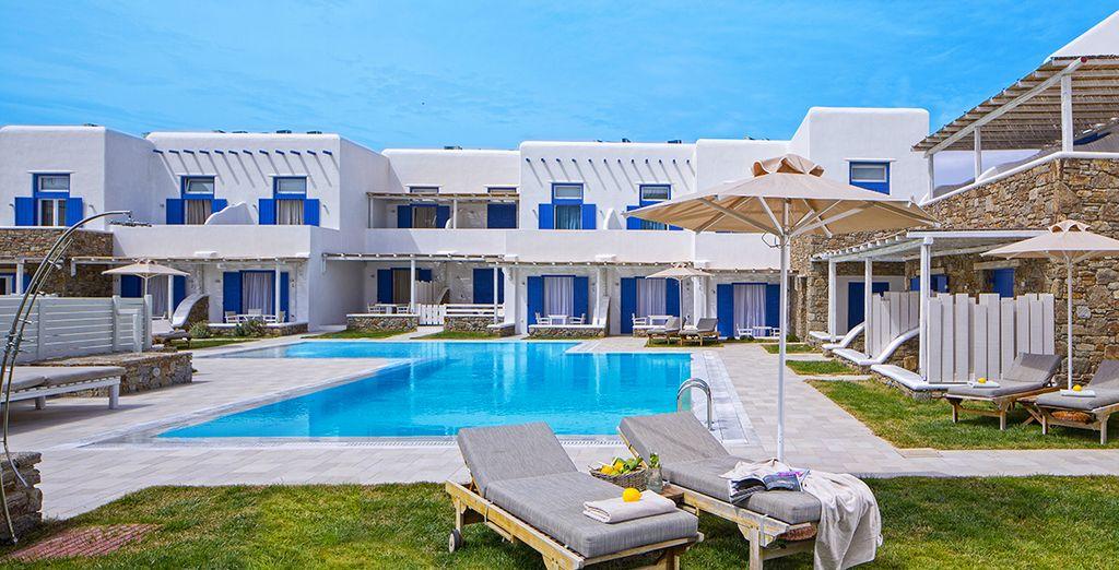 Bienvenue au Villa del Sol, à Mykonos