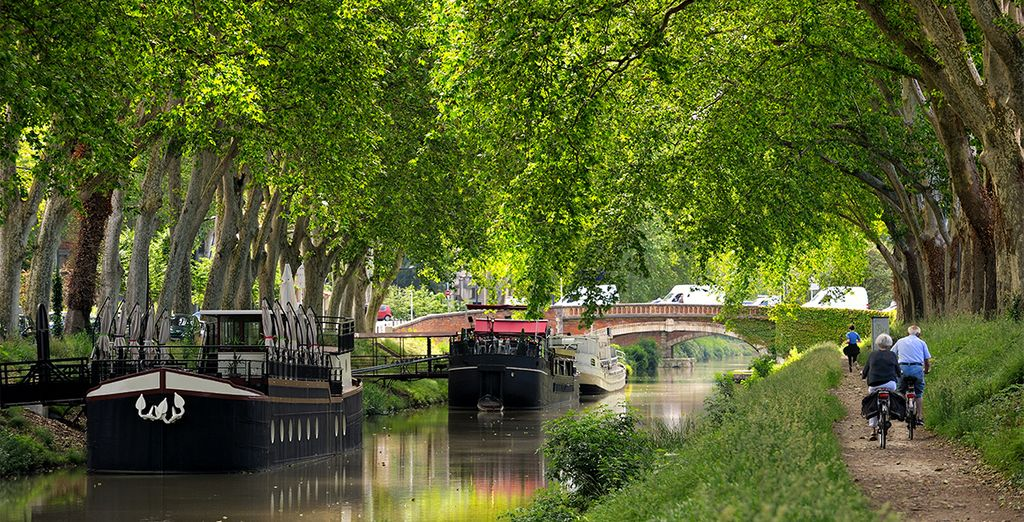 Pour découvrir tout le charme du Canal du Midi ou des bords de la Garonne