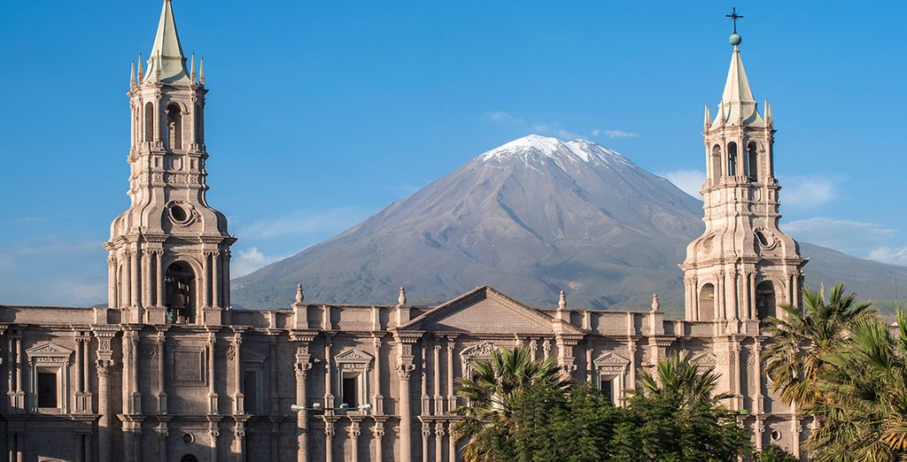 Vous aurez également l'occasion de découvrir Arequipa entre désert et montagne