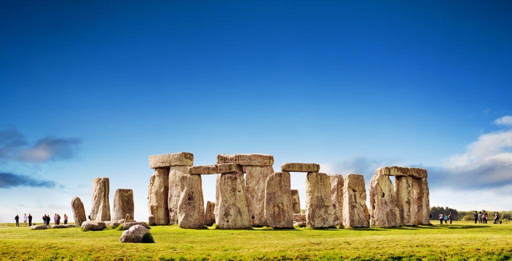 Le spectaculair monument mégalithique Stonehenge