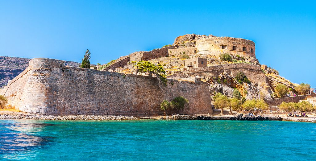 Visite de l'île de Spinalonga, ancienne forteresse Vénitienne