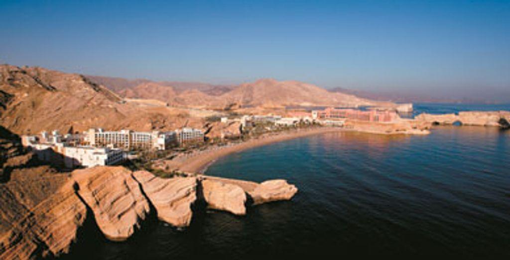 - Shangri-La's Barr Al Jissah Resort & Spa Al Waha ***** - Mascate - Oman Mascate