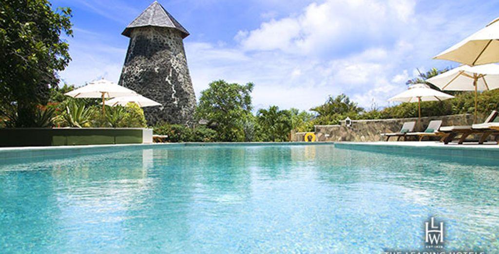 Une magnifique piscine... - Cotton House Resort ***** Mustique Island