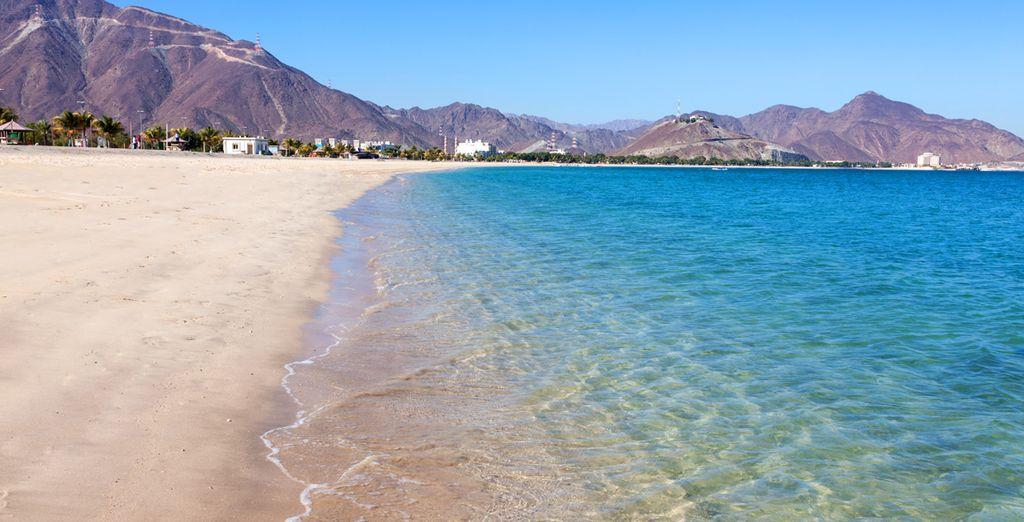 Adonnez-vous au farniente sur les grandes plages de l'Émirat