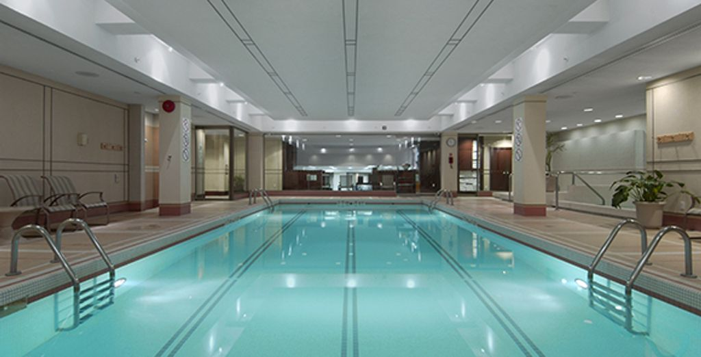 Fairmont The Queen Elisabeth : la piscine