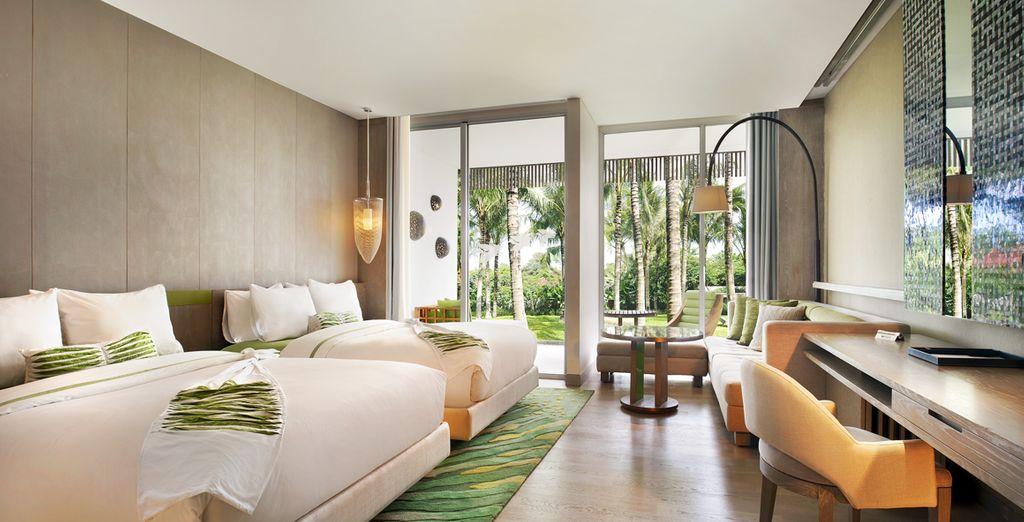 Reposez-vous dans un cocon luxueux : la chambre Garden View