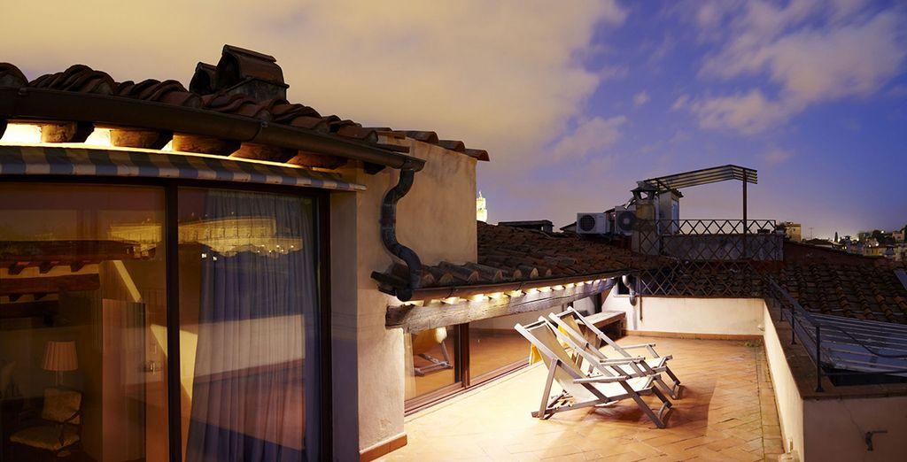 Votre terrasse au toit