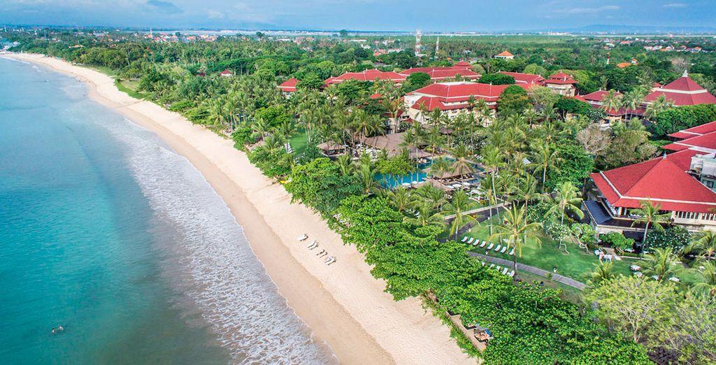 Sur la plage de Jimbaran