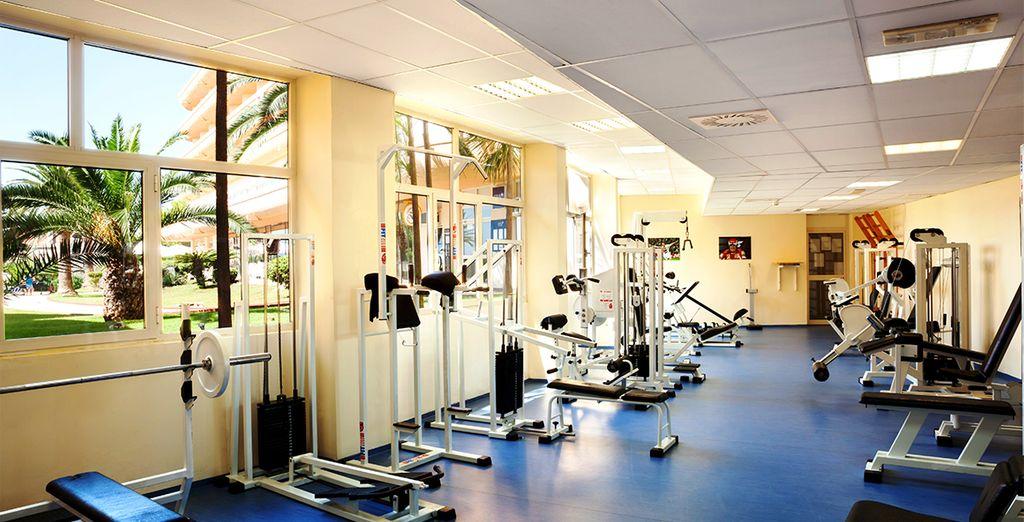 Prenez soin de vous au centre de fitness de l'hôtel...
