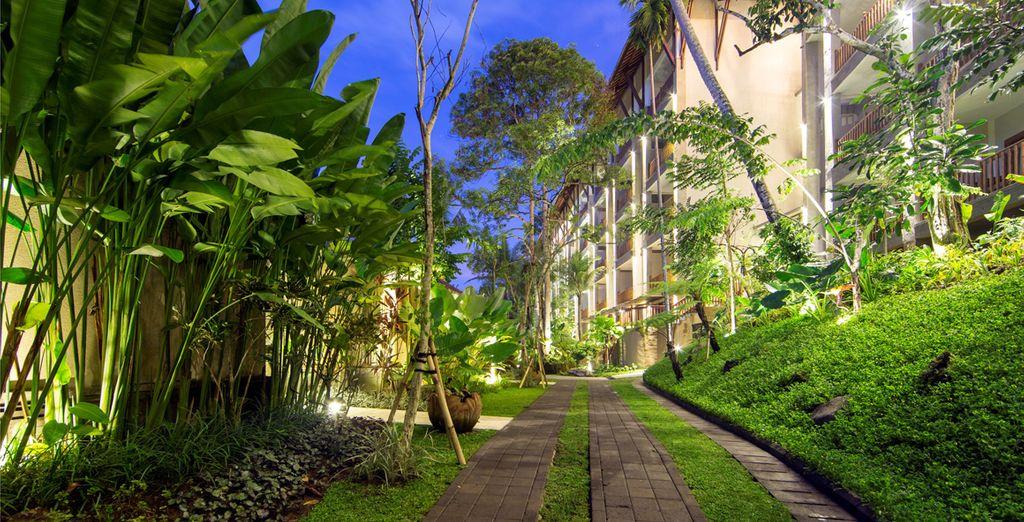 Au coeur de la végétation luxuriante du Lokha Ubud Resort Villas & Spa !
