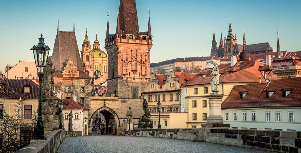 Voyage tout inclus à Prague tarifs exclusifs