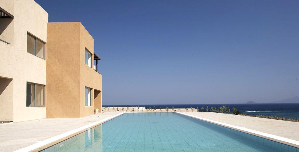 Un bel hôtel 5* au bord de la Mer Egée réservé aux adultes