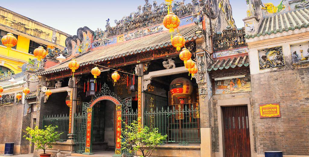 Visiterez Ho Chi Minh, son quartier chinois...