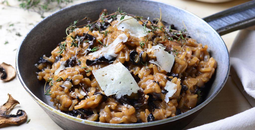 Vous dégusterez de délicieuses spécialités italiennes