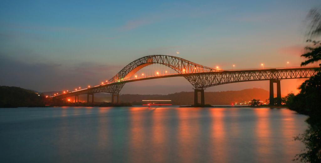 Pont des Amériques à Panama City