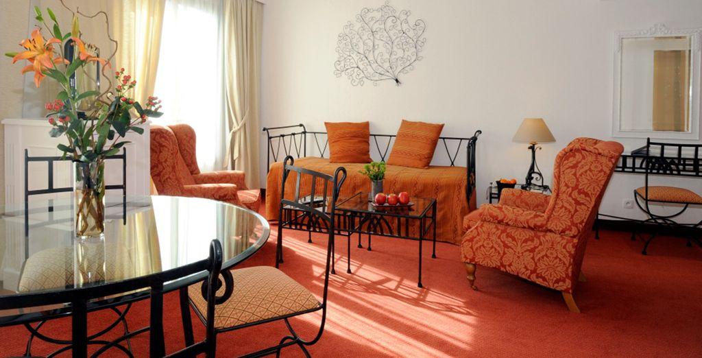 Découvrez votre spacieuse Suite