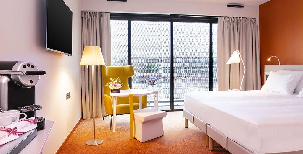 Hôtels pas chers tout confort avec chambre double et vue panoramique sur Bordeaux