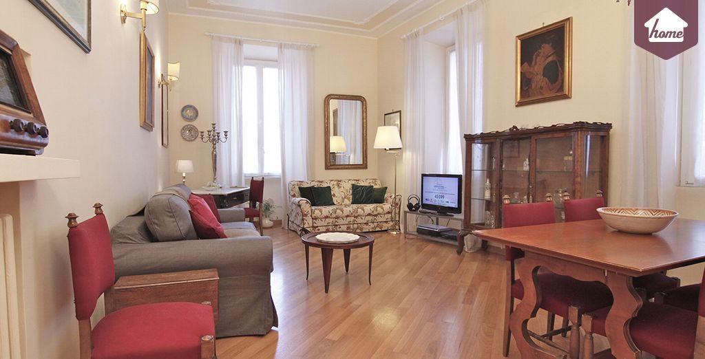 Votre salon élégant et spacieux