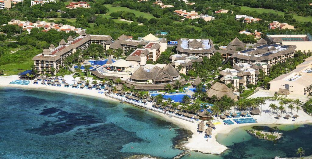 Sur la Riviera Maya, située sur la péninsule de Yucatan