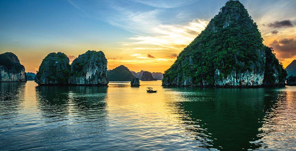 Vous aurez le privilège de contempler à votre rythme un des joyaux d'Asie du sud-est