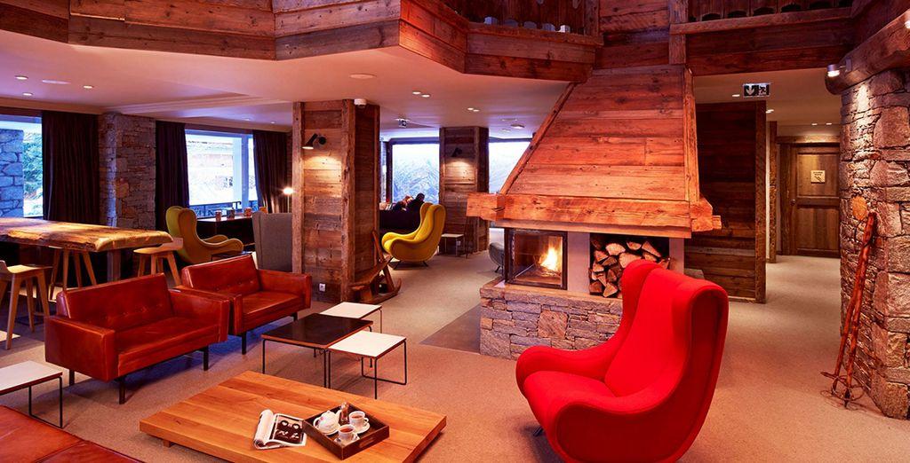 Envie d'un séjour chaleureux à la montagne ? - Hôtel des Trois Vallées 4*  Courchevel