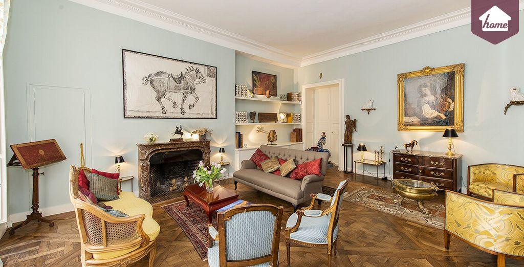Bienvenue dans votre salon - Appartement au Marais pour 4 personnes (160m2) Paris