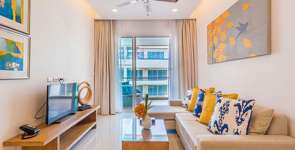 Si vous ne bénéficiez pas du surclassement, vous séjournerez en Deluxe Suite 1 Bedroom
