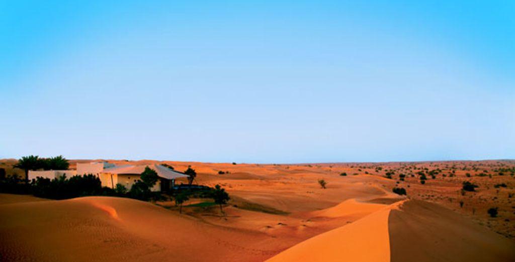 Le désert de Dubaï