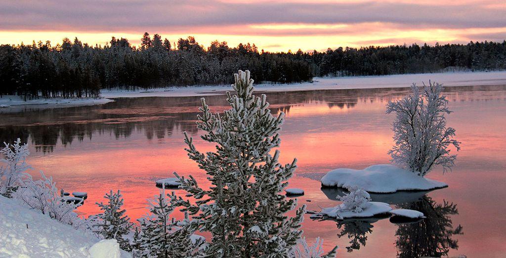Ce pays au décor de rêve, qui l'hiver venu revêt son manteau de neige