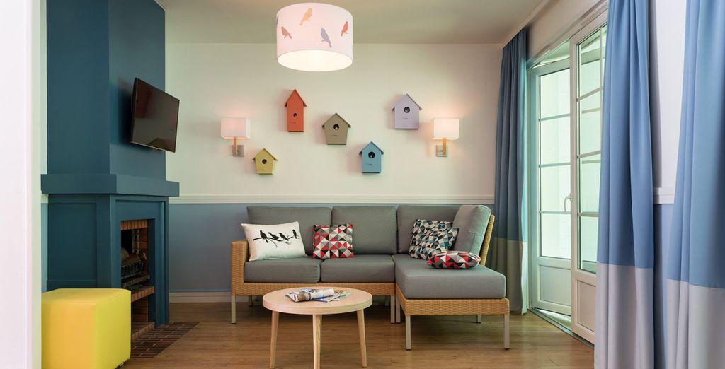 Vous pourrez aussi craquer pour la décoration du cottage Comfort Nouveau Design