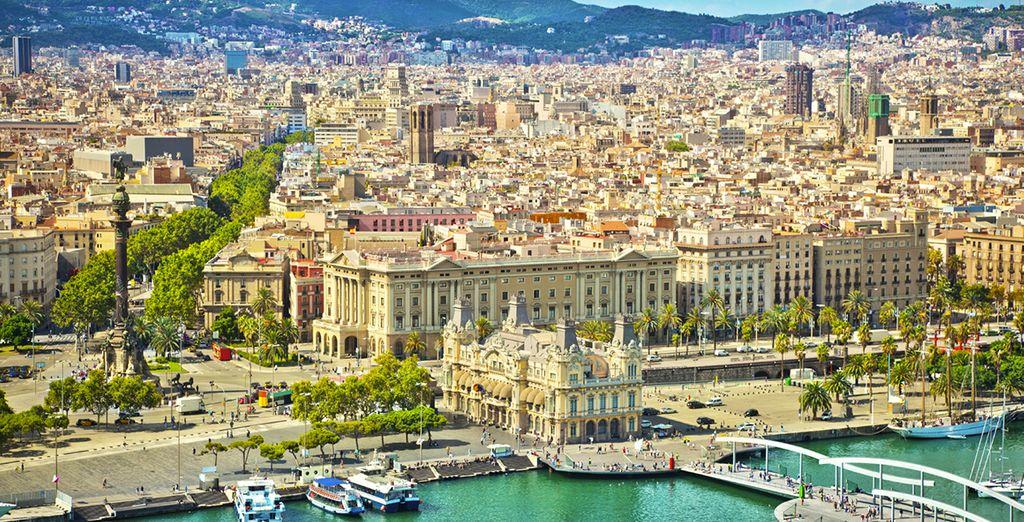 Pour votre dernière escale : cap sur la vibrante Barcelone