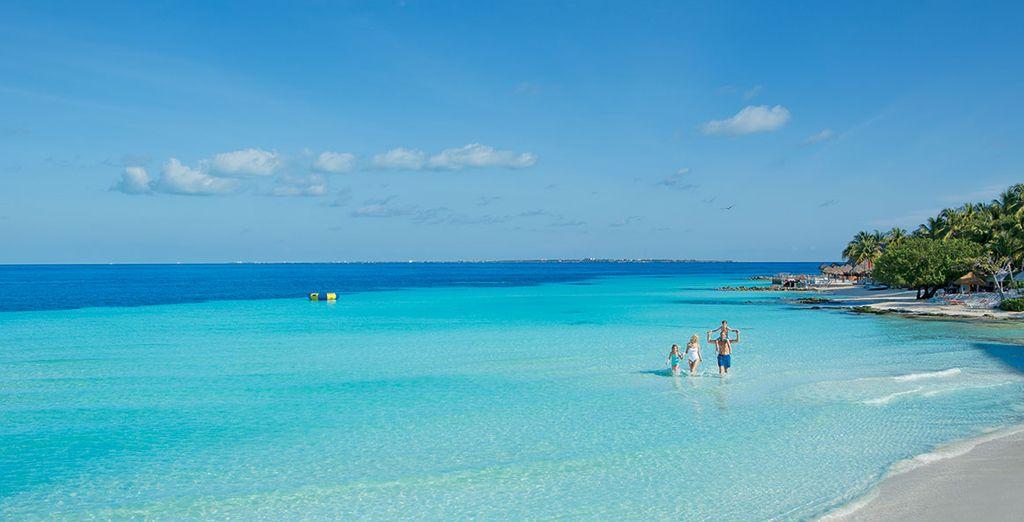 Une plage de rêve...