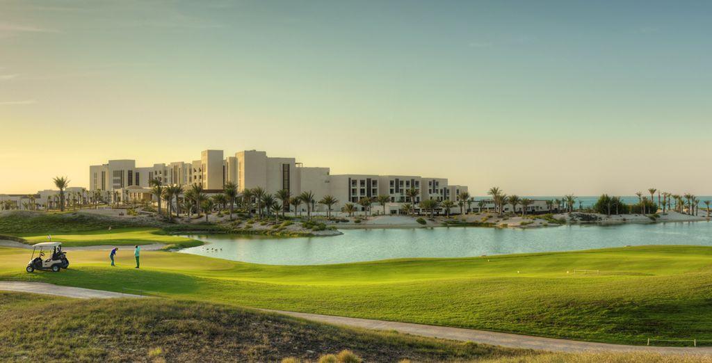 Adonnez-vous à quelques swing sur un golf d'exception