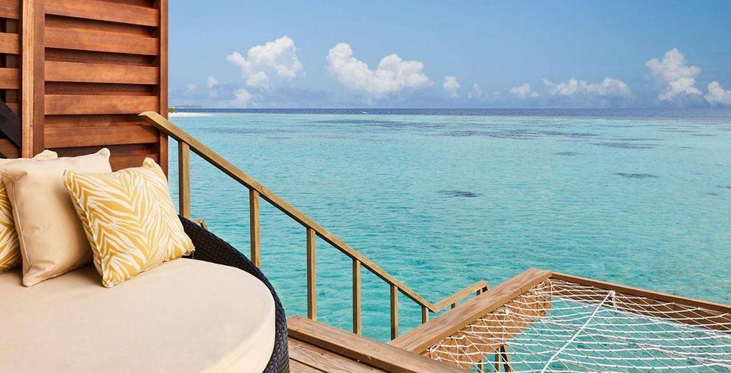 Ou en Overwater villa