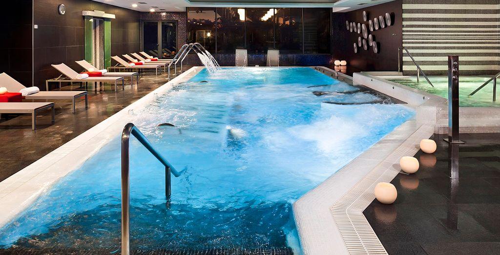 L'hôtel abrite un spa pour vos moment de pure relaxation