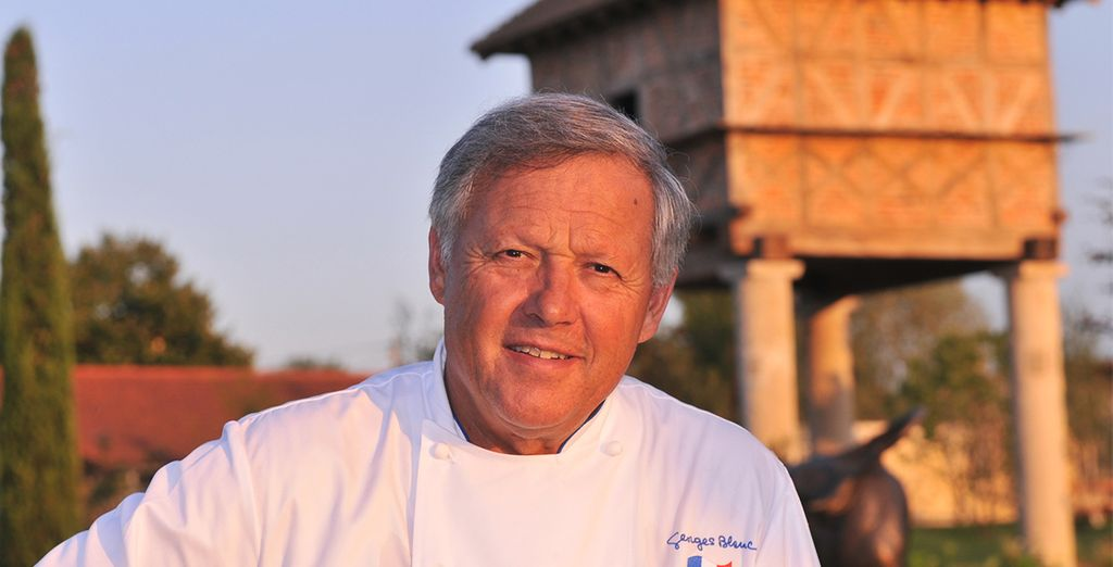 Découvrez la cuisine étoilée du chef Georges Blanc