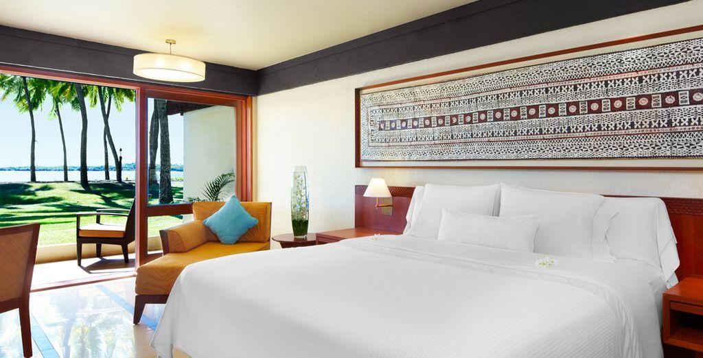 Hôtel de luxe dans les îles Fidji