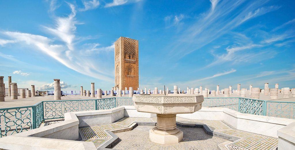 La magnifique Tour Hassan...