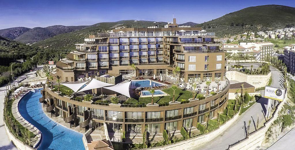 Bienvenue au Suhan 360 Hôtel & Spa