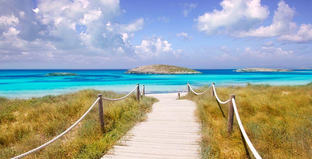 Laissez-vous enivrer par la beauté des plages de Formentera