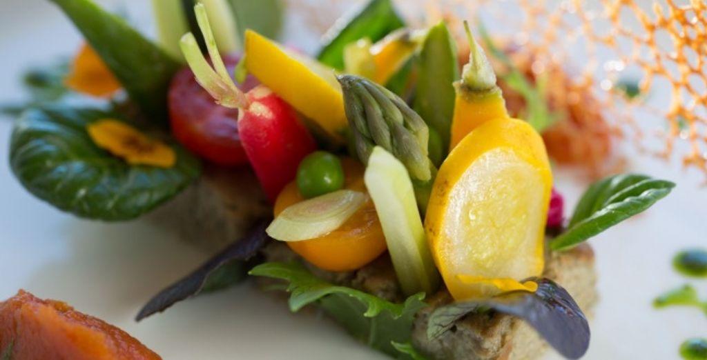 Le restaurant L'Orangerie vous accueille pour de merveilleux moments culinaires